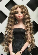 """DOLL Wig, Monique """"Christine"""" Size 6/7 in Ginger Brown"""