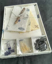 Exquisite Gift Letter/Writing Stationery Set/Handmade Mulberry Paper/Natural/Wh