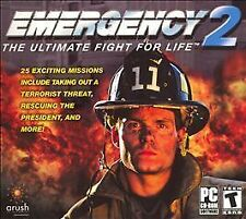 Emergency 2: The Ultimate Fight for Life Jewel Case (PC, 2004) VG