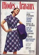 Modes Et Travaux N° 837 Du 01/09/1970