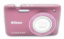NIKON COOLPIX S4100 14MP 5X ZOOM DIGITAL CAMERA PLUM W/ ACCESSORIES