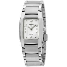 TISSOT T-10 White Dial Stainless Steel Ladies Watch Ladies Watch T0733101101701