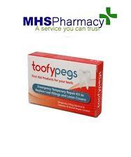 Toofypegs-EMERGENZA dentale Kit Riparazione per le otturazioni perso & LOOSE Crowns