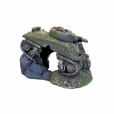 BLUE RIBBON EXOTIC AQUA ARMY TANK WITH CAVE ORNAMENT SMALL SIZE FREE SHIP US