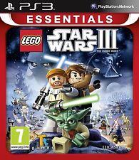 Lego Star Wars 3: The Clone Wars PAL PS3 (nuevo Y Sellado)