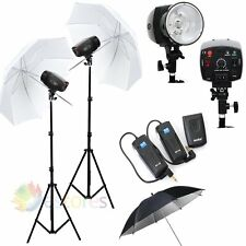 GODOX K-180A 360W 2x180W Photography Studio Strobe Flash Lighting Light Kit