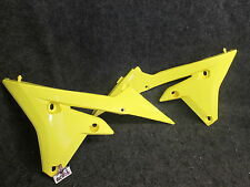 Yamaha YZF250 YZF450 2014-2016 New yellow lower radiator shroud set YZ2141