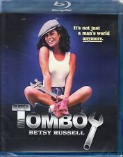 TOMBOY  cult *BLU-RAY NEW OOP* wow BETSY RUSSELL hot  *80's SLEAZE ROMP RARE*