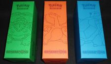 XY Super Premium Empty Deck Boxes CHARIZARD BLASTOISE VENUSAUR Pokemon Storage!