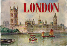 LONDON (1940's) 36-page color photo album from Valentine & Sons