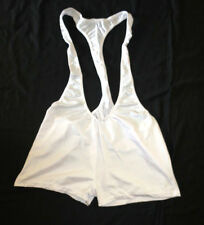 Neu New  Herren M Medium Body Einteiler Skinsuit Suit Singlet weiss