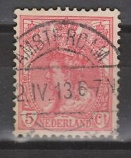 NVPH Netherlands Nederland 60 TOP CANCEL AMSTERDAM Wilhelmina 1899-1921