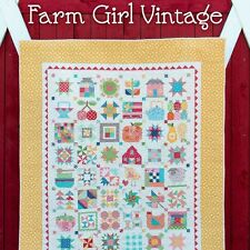 FARM GIRL VINTAGE Book 48 Quilt Blocks 14 Projects Lori Holt Bee In My Bonnet
