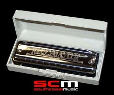 Brand New Suzuki Bluesmaster 10 hole Diatonic Harmonica MR250 Key of E flat Eb