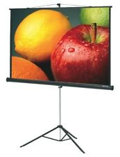 7x5 Sq.Ft. CRYSTAL BRAND TRIPOD PROJECTOR SCREEN .UV COATED