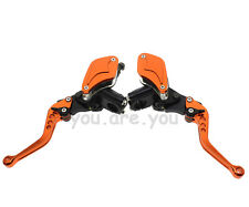 KTM Master Cylinder Reservoir Hydraulic Brake Clutch Levers Orange Motorcycle