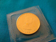 1987  1/10 oz Canada GOLD Maple Leaf BU $5 Face and .9999 Fine Au