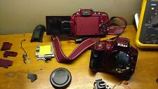 NIKON D5300 Mirror Box with Shutter. WITHOUT CURTAIN