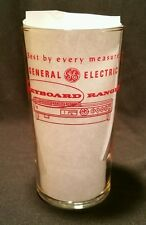 1950's General Electric Advertising  Glass ACL~Appliances Stoves GE
