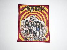 ANTHRAX STATE OF EUPHORIA WOVEN PATCH