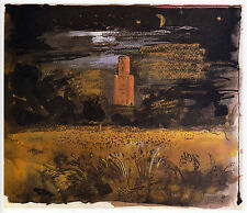 Horton Tower, Dorset, John Piper print in 10 x 12 inch mount ready to frame