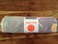 NEW! NWT MANDUKA YOGITOES skidless yoga towel MAT Waterfall pink purple grey