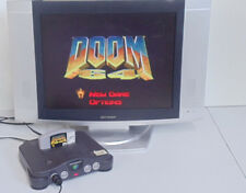 DOOM 64 Nintendo 64 Rated M N64 game tested and working see pictures.