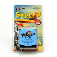 Super 8 Film Kit COLOR ASA 200T by pro8mm plus processing and digital scanning