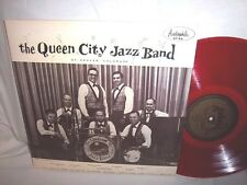 QUEEN CITY JAZZ BAND-SELF TITLED-AUDIOPHILE AP 94 RED VINYL VG+/VG+ LP