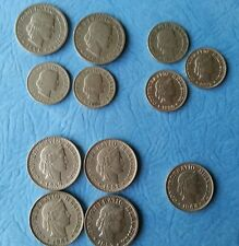 1903 37 39  1927 1944 1951 and 1959 B Rare 12 Lot  Switzerland 5 10 20 Rappen HS