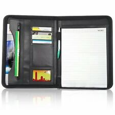A4 PU Leather Business Conference Portfolio Folder Document File Note Holder