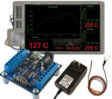 techFX Reflow PID controller KIT dry + brew + cure + monitor 3 sensors microchip