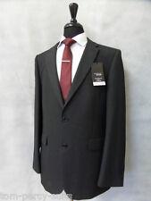 Men's thomas nash coupe ajustée gris foncé 2 pièce costume 42L W36 L33 CC1753