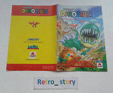 Super Nintendo SNES Hungry Dinosaurs Notice / Instruction Manual