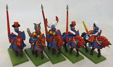 Warhammer  Empire Mounted 5 Reiksguard Knight army lot metal rider oop painted