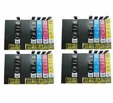 20 Pack T252XL Ink Cartridge for Epson WF3620 WF3640 WF7110 WF7610 WF7620