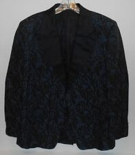 After Six By Rudofker Joske's of Texas Paisley Tapestry Smoking Jacket Size 42