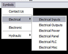 CAD Electrical  Symbol Library, Menu for Autocad (VER 2.1)