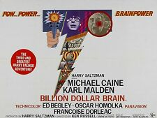 "Billion Dollar Brain 16"" x 12"" Reproduction Movie Poster Photograph 2"