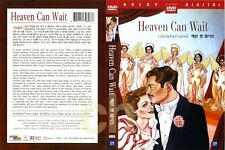 Heaven Can Wait (1943 - Gene Tierney / DVD)