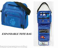 PET GROOMER GROOMING Mobile Travel Storage Tool Case Tote MULTI-USE BAG*EXPANDS*