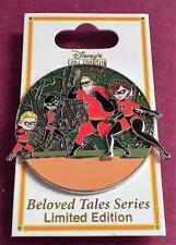 DSF DSSH Disney Soda Fountain The Incredibles Beloved Tales LE 300 Pin