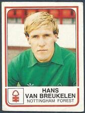 PANINI FOOTBALL 84-#184-NOTTINGHAM FOREST-HANS VAN BREUKELEN