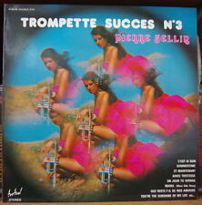 PIERRE SELLIN TROMPETTE SUCCES VOL 3 CHEESECAKE COVER DOUBLE FRENCH LP