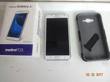 SAMSUNG GALAXY J7 J700T WHITE UNLOCKED TO WORK WITH ANY GSM CARRIER MINT BUNDLE