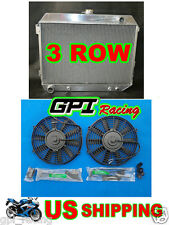 Radiator + fans 70-73 Plymouth Barracuda / 68-73 DODGE CHARGER/CHALLENGER V8