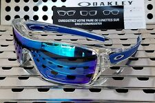 New Oakley 9307-10 TURBINE ROTOR Sunglasses Clear / Sapphire Iridium Lenses