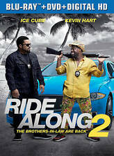 Ride Along 2 (Blu-ray/DVD, 2016, Ultraviolet)