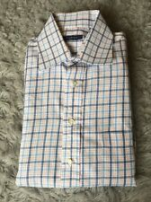 NEW BURBERRY LONDON Men's Long Sleeve Button Down Shirt Size LARGE