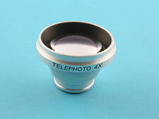 Magnetic 4X Telephoto Lens Telescope for iPhone 5 iPhone 4S/4 iPhone 3G S